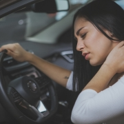 getting into a car accident